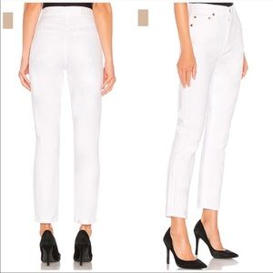 Re/Done Originals Double Needle Crop Jeans size 24